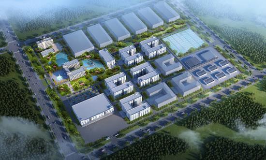 上海以岭万洋衡水制药项目
